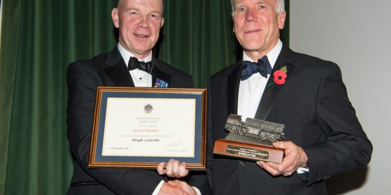 General Dynamics Uk wins Royal Logistic Corps Foundation award