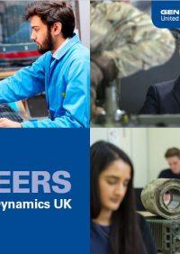 Professional recruitment brochure – careers at General Dynamics UK