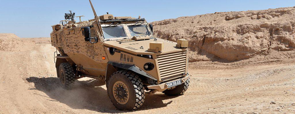 General Dynamics Vehicle Foxhound